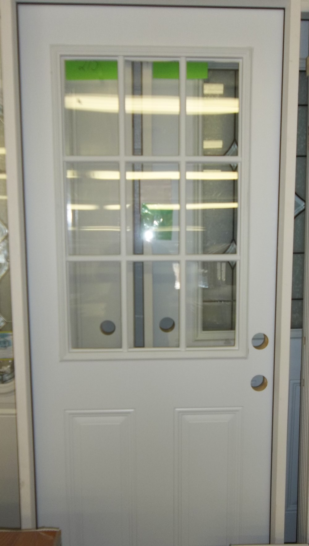 9 Lite Steel Door Unit $189