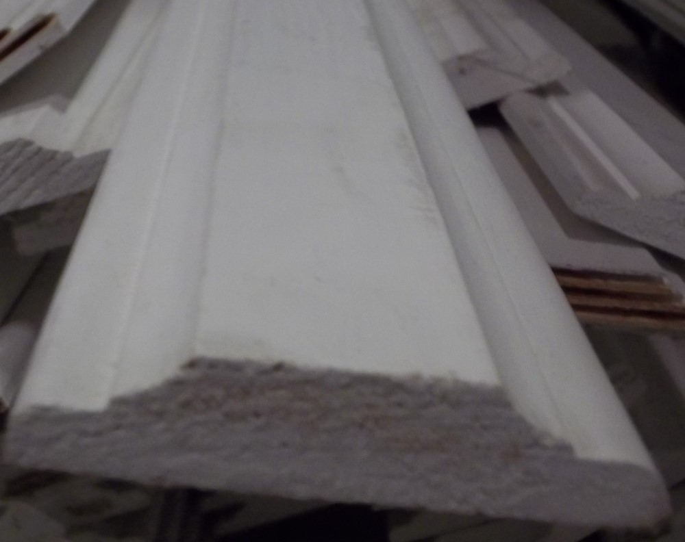 Primed Wood Moulding .50/ft