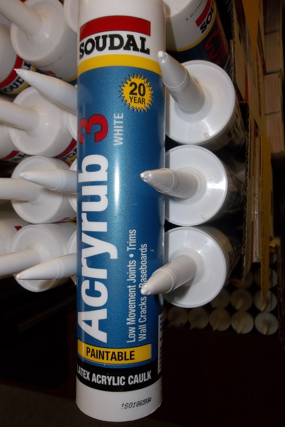 Latex Acrylic White Caulk $1.67 - paintable