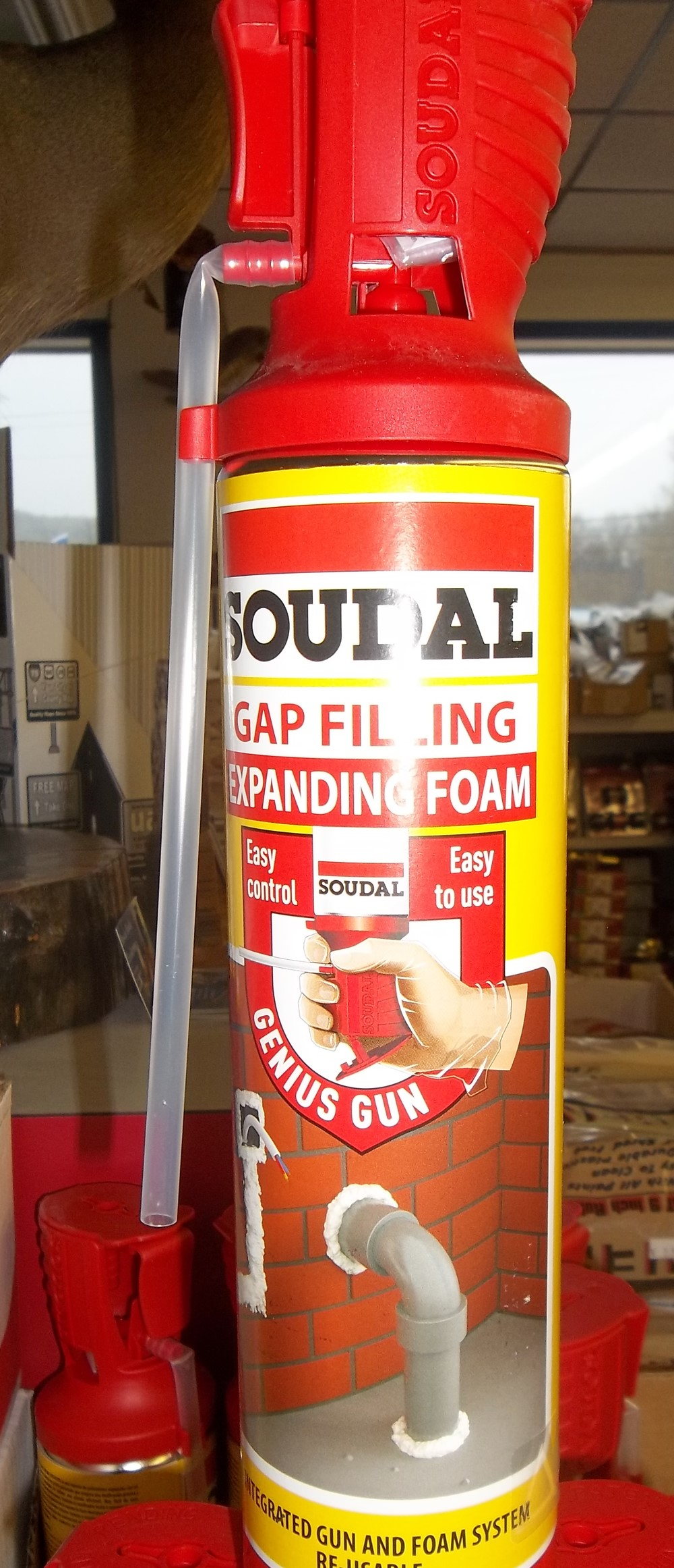 Gap Filling Expanding Foam $7.99  20oz.