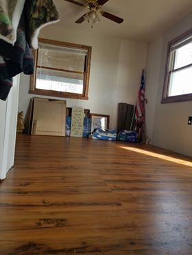 Distressed Pine Laminate Floor