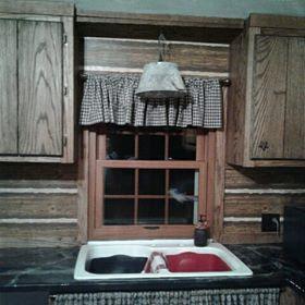 Vinyl Wood Look interior Double hung Window