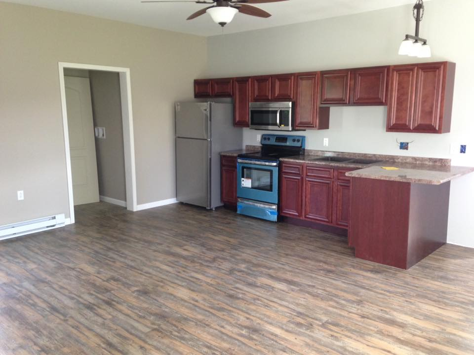 Kitchen Cabinets & vinyl Flooring
