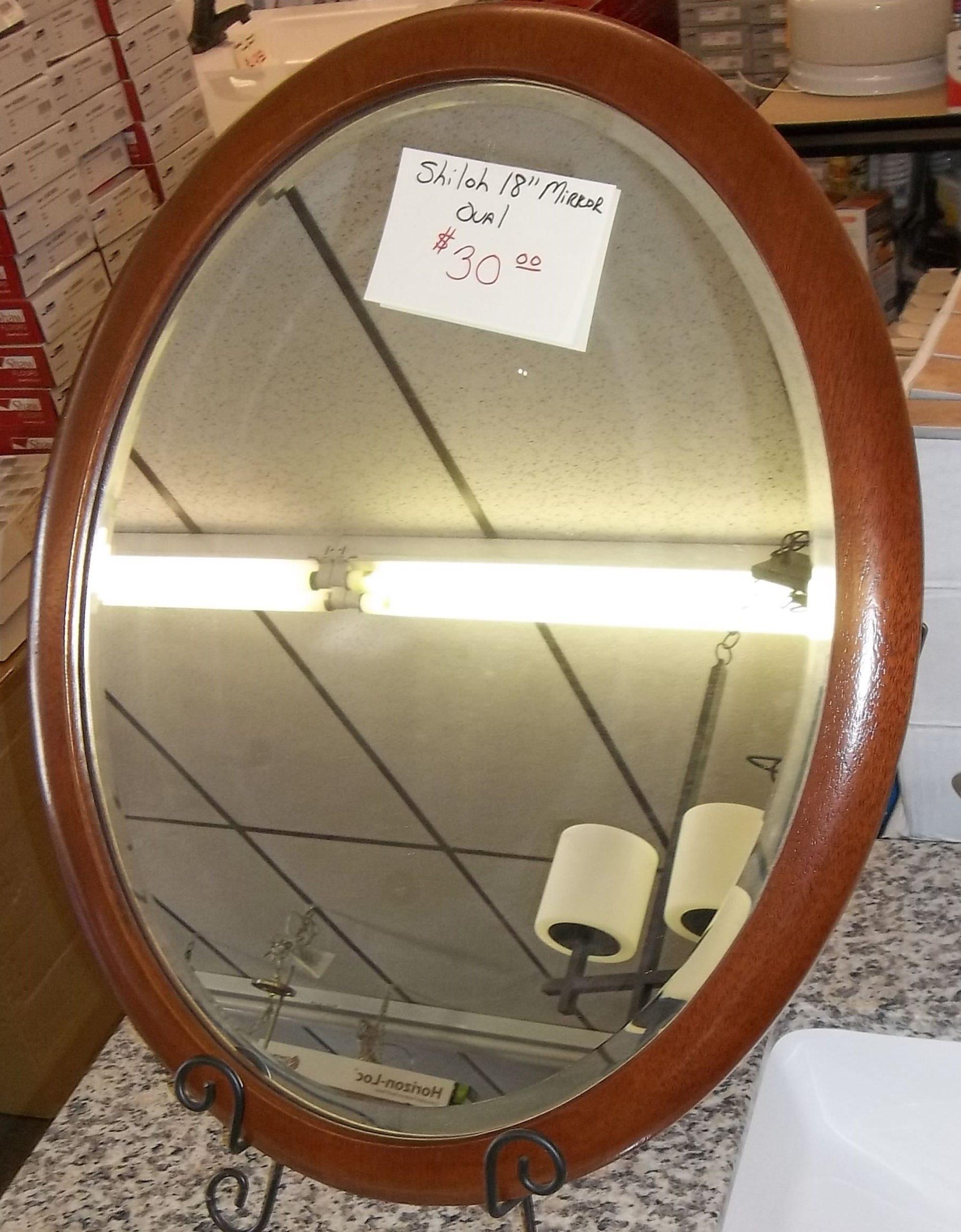 Shiloh Oval Mirror $30