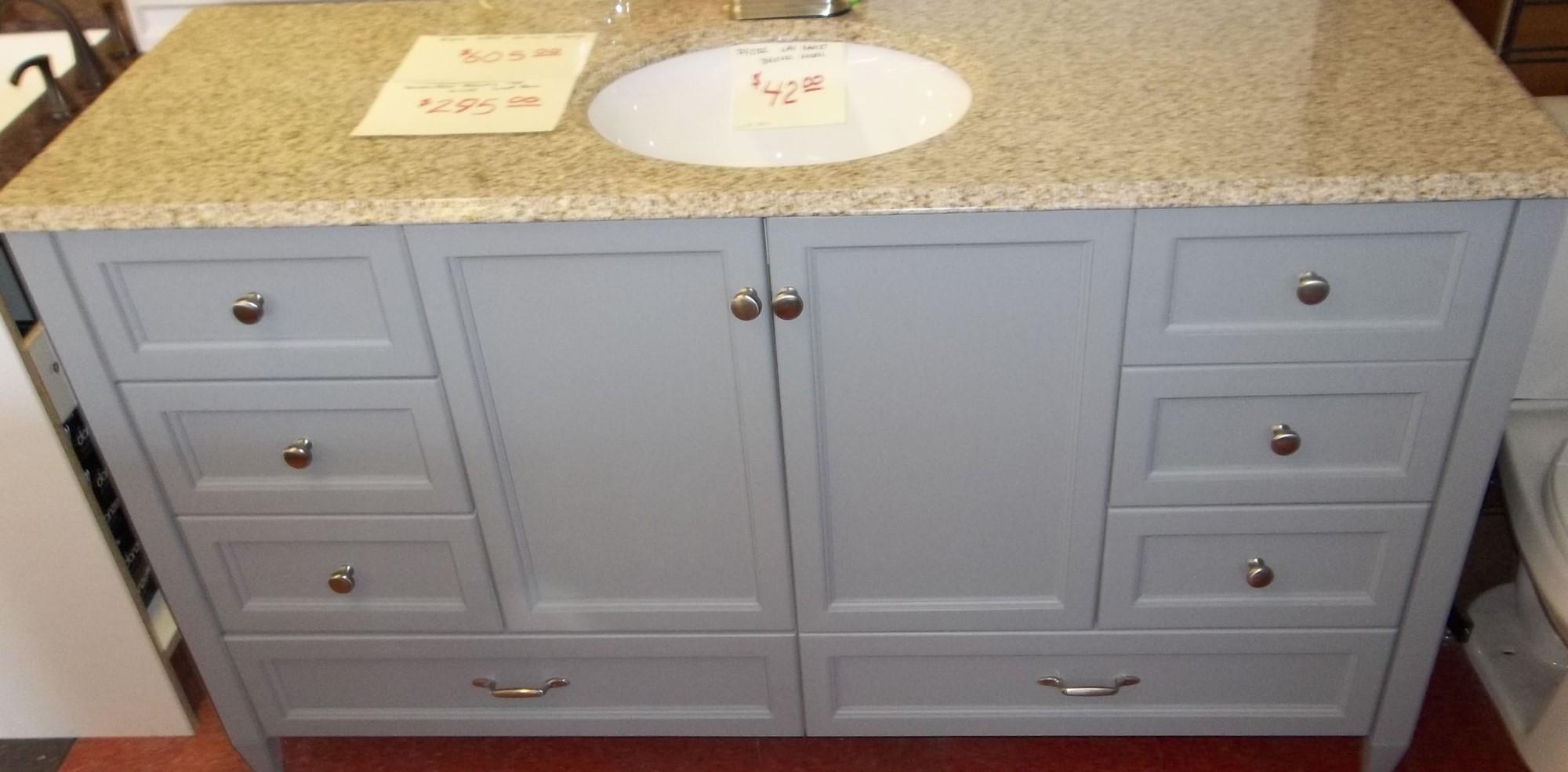Royal Grey Vanity 60x21 $605